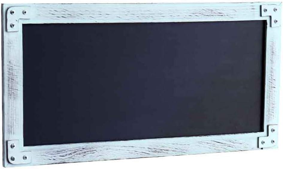 LIANGJUN Message Board Chalkboards Retro Wooden Wall-Mounted Cha