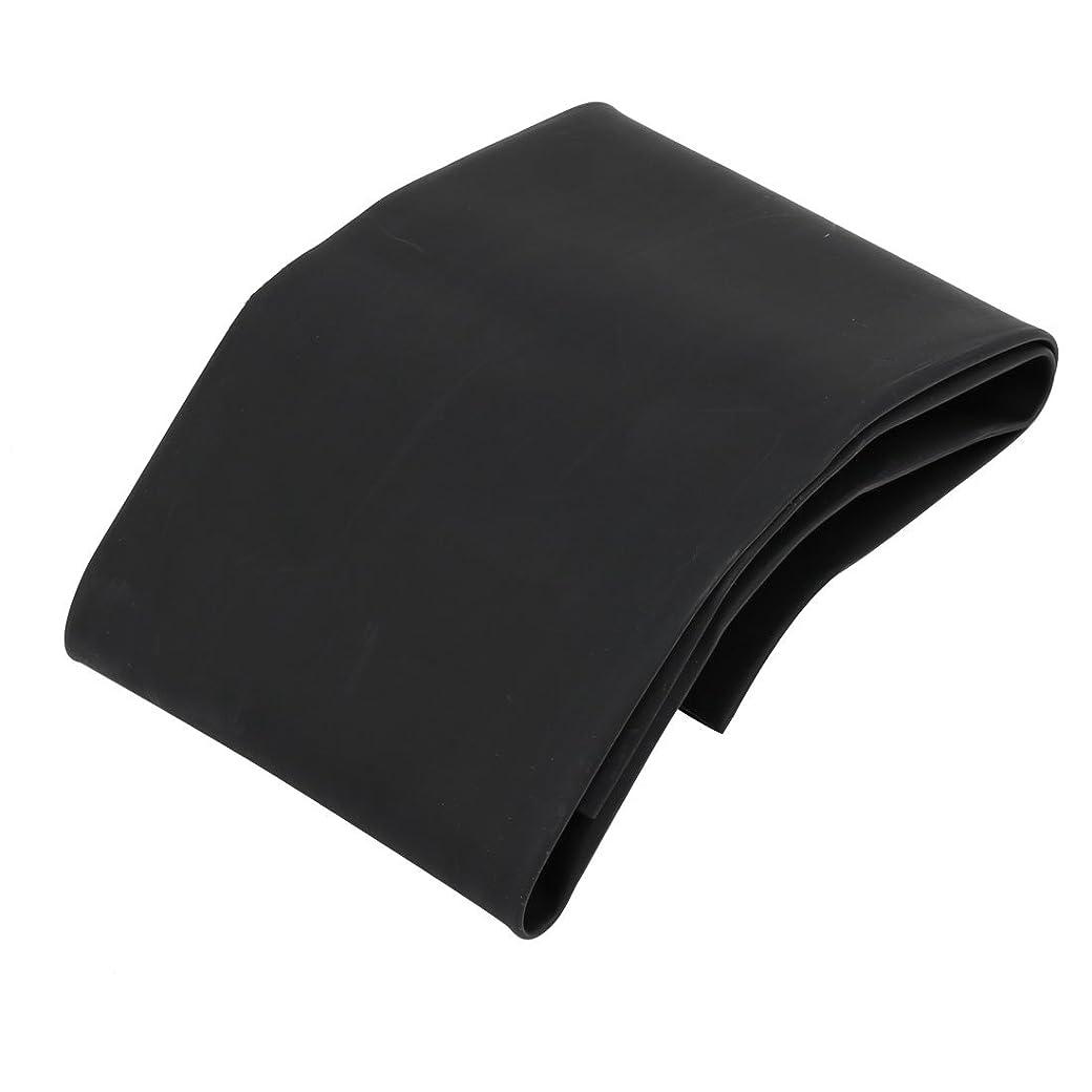 流判定せっかちuxcell 熱収縮チューブ ポリオレフィン製 ブラック 0.5M長さ 60mm内径 難燃性チューブ