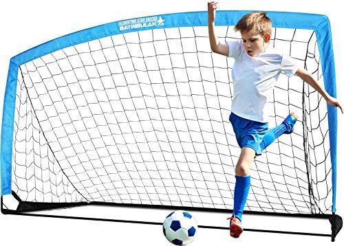 BAYINBULAK Porta da Calcio per Bambini da Giardino Allenamento Rete da Calcio da Casa x1