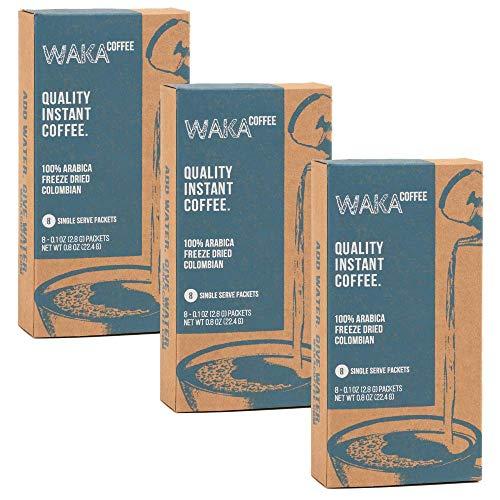 Waka Quality Instant Coffee — Medium Roast — 100% Arabica & Freeze...