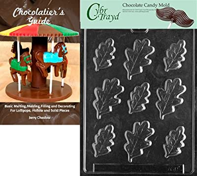 Cybrtrayd Bk-AO110 Oak Leaves All Occasions Chocolate Candy Mold, Large