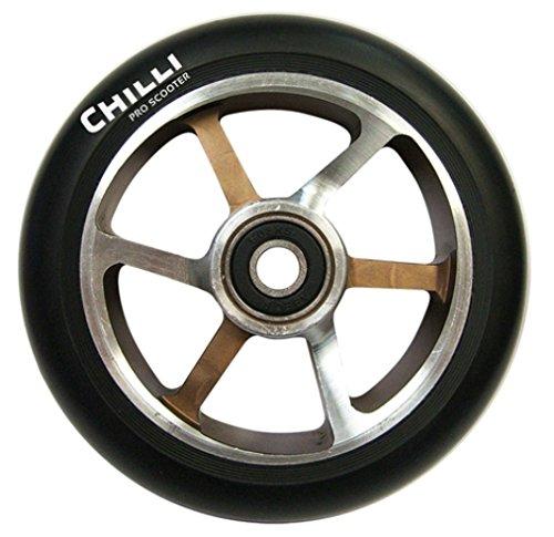 Chilli Roue Choco/Aluminium/Noir 110 mm