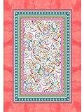 Bassetti Colcha de algodón Rosa 180X255 cm