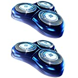 HQ8 Dual Precision Replacement Heads for Philips Norelco Shavers OEM HQ8/52, 6 Pack