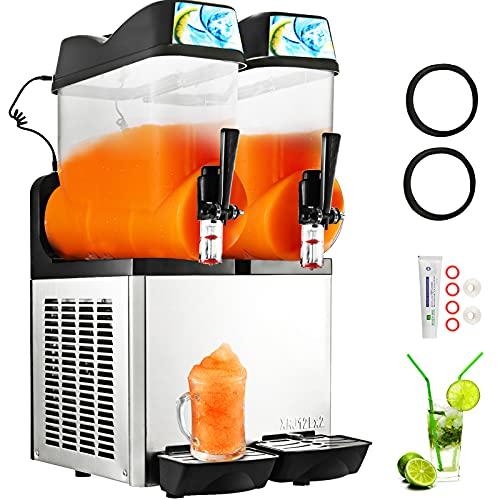 VBENLEM 110V Commercial Slushy Machine 24L Margarita Frozen...