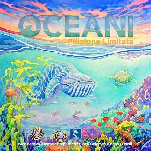 Asmodee- Oceani-Gioco da Tavolo Pendragon Game Studio Edizione in Italiano, 0486
