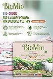 Biomio Detergente en Polvo para Ropa Color con Extracto de Algodón, Sin Fragancia, 1100 Gr