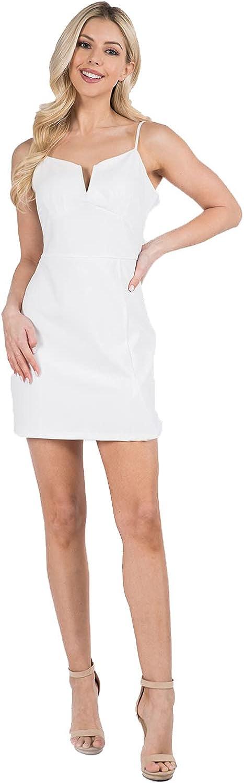 MIAMINE Women Kansas City Max 64% OFF Mall Square Neck Sleeveless Solid Midi Knit High Dress