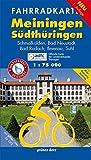 Fahrradkarte Meiningen, Südthüringen: Mit Röhn-Rennsteig-Radweg. Mit UTM-Gitter für GPS. Offizielle Karte des ADFC-Landesverbandes Thüringen. Wasser- ... Thringen (Fahrradkarten)