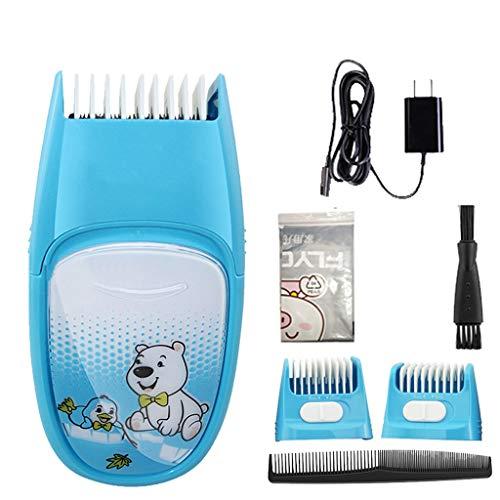 Tondeuse à cheveux SLL Tondeuse électrique Rechargeable Tondeuse électrique Ménage Tondeuse électrique Tondeuse Professionnelle Cheveux Artifact Pratique (Color : Blue)