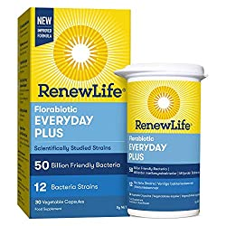 HIGH POTENCY 50 BILLION FRIENDLY BACTERIA - One a day formula, one month supply, vegetarian and free of gluten, soy and dairy BACKED BY YEARS OF HEALTH RESEARCH AND SCIENCE – Contains 12 scientifically studied and diverse Bifidobacterium and Lactobac...