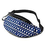 Colon Cancer Awareness Riñonera Casual,Fanny Pack Hip Bum Bag Belt Bag For Mujeres Hombres al Aire Libre Workout Traveling Hiking Running Cycling