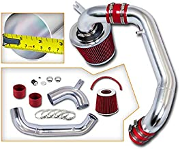 Rtunes Racing Cold Air Intake Kit + Filter Combo RED Compatible For 95-99 Dodge Neon SOHC model only