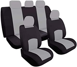 Full Set Washable Car Seat Covers - Universal Design With Airbag Compatible - Automotive Interior Accessories Protectors -...
