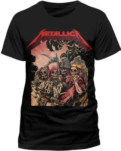 Live Nation - T-shirt Homme Metallica - Four Horsemen - Noir (Black) - Large