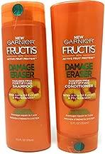 Garnier Hair Care Fructis Damage Eraser Shampoo (12.5 oz) and Conditioner (12 oz) Set