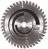 Bosch 2 608 640 503 - Hoja de sierra circular Multi Material - 160 x 20/16 x 2,4 mm, 42 (pack de 1)