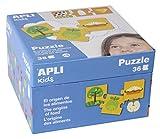 APLI Kids - Origen de los Alimentos Puzle, 36 Piezas, Multicolor, 14360
