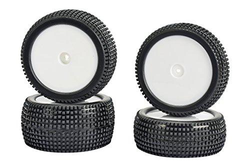 Carson 500900135 – Super Gripp 4 WD pneus Set de 4, Accessoires