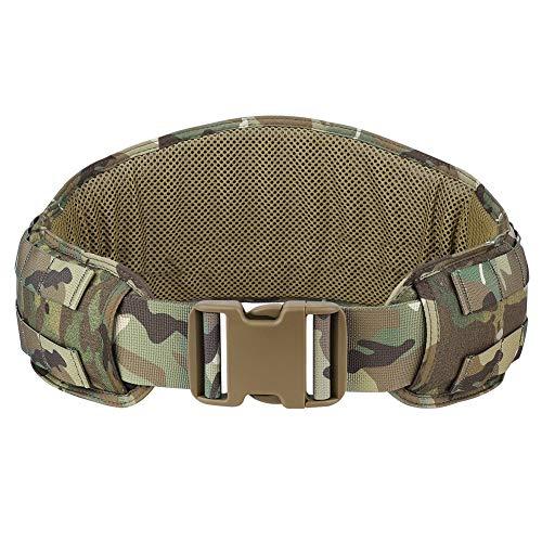KRYDEX Tactical Belt Molle Modular Low Profile Belt Padded...
