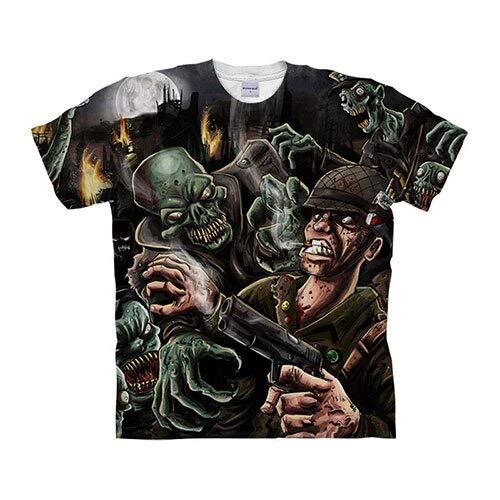T-Shirt Crâne T-Shirts 3D T-Shirt Hommes T-Shirt Streatwear Tee Top À Manches Courtes Hip Hop XXXL Tx1051
