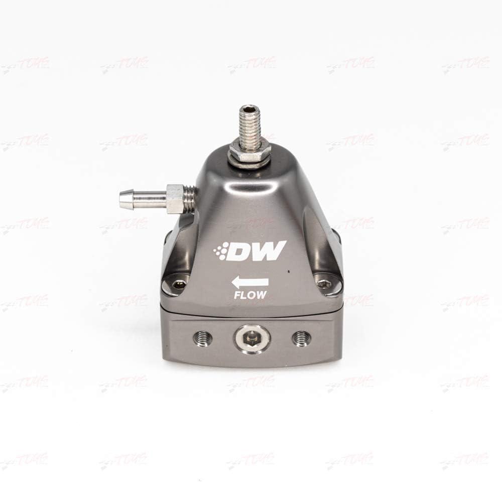Deatschwerks El Manufacturer regenerated product Paso Mall DWR1000iL Inline Fuel Pressure Regulator - Titanium