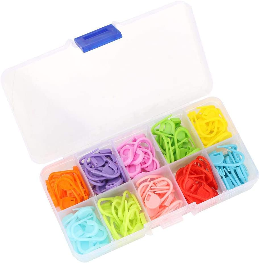 Ranking TOP15 Jectse 120 Pcs Plastic Stitch Pin Clips Saf Pins Safety 5% OFF Sewing