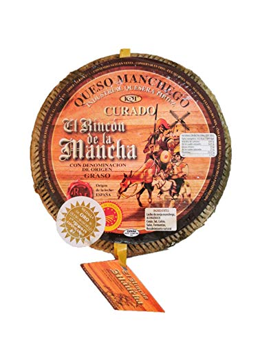 Queso Manchego D.O.P. El Rincon de La Mancha Curado 2,5 kg