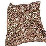 Cobertor de red de camuflaje,Toldo De Sombra Red de sombreado | Oxford Cloth Desert Car Camuflage Net | Adecuado para la campaña de protector solar de caza silvestre, multi-tamaño ( Size : 6x10m )