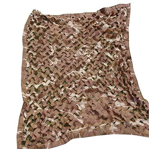 QIANMEI Velas de Sombra Toldos para Patio Red de sombreado | Oxford Cloth Desert Car Camuflage Net | Adecuado para la campaña de Protector Solar de Caza Silvestre, Multi-tamaño (Size : 5x6m)