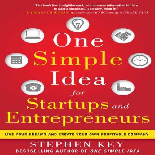 One Simple Idea for Startups and Entrepreneurs cover art