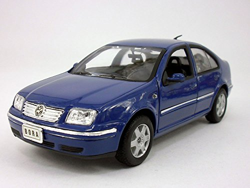 Welly Jetta / Bora 2001 1/24 Scale Diecast Metal Model - Blue