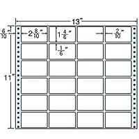 東洋印刷 タックフォームラベル 13インチ ×11インチ 24面付(1ケース500折) MT13K