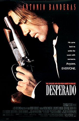 Poster Kunstdruck Bild Desperado~Antonio Banderas~Movie Film Kino Poster 89x59cm