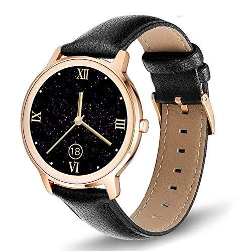 FASD Fitness Tracker, Smart Watch Mujeres Hombres Actividad Tracker Ritmo cardíaco Sphygmomanómetro Impermeable Mujer Smartwatch,D