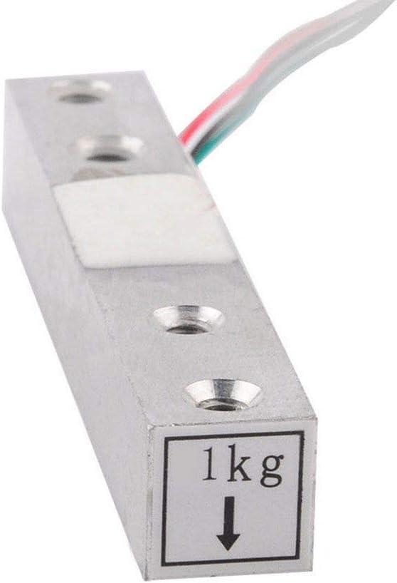 PRENKIN 1//5//10//20 kg Kleine W/ägebereich Drucksensor und HX711AD Modul W/ägezelle und HX711-Modul