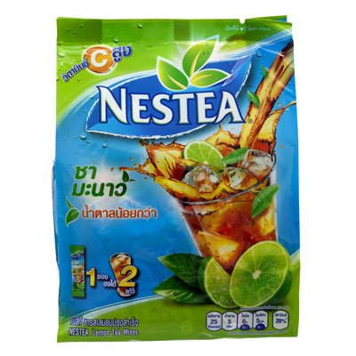 Mezcla para té de limón Nestea 13g, paquete de 18 bolsitas