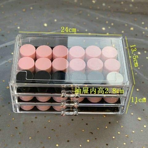 Nagel Aufbewahrungsbox Kosmetik Schöne Organizer Box Make-up Nagellack Aufbewahrungsbox Acryl Box Schmuck Aufbewahrung Transparente Schublade