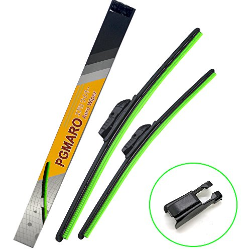 PGMARO Car Windshield Wiper Blade 22'+20'for Car Truck Van SUV All-Seasons Durable Stable And Quiet Wiper Blade (Set of 2)
