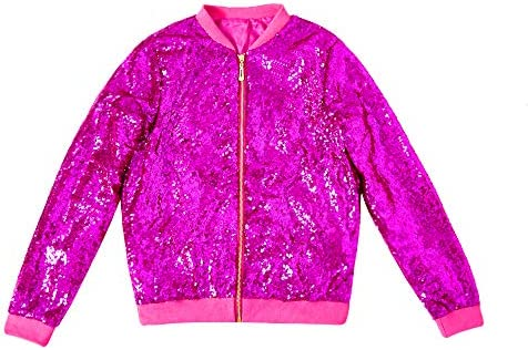 Women Sparkly Sequin Jacket Party Blazer Coat for Women Bomber ClubwearJacket Ladies Casual product image