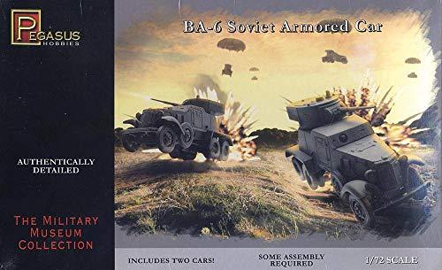 Pegasus pg7672–1/72 BA des Ensembles de 6 Armoured Car, Plastique modèle Ensemble de 2