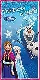 Disney Frozen Luftballons, 28 cm, Rosa / Blau / Weiß