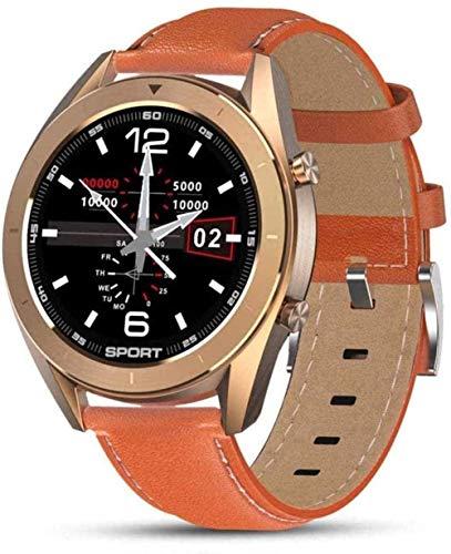 Reloj Inteligente Ip68 Impermeable Ronda Hd Pantalla ECG Detección Diales Cambiables Smartwatch Fitness Tracker Hombres desgaste diario E-D-H