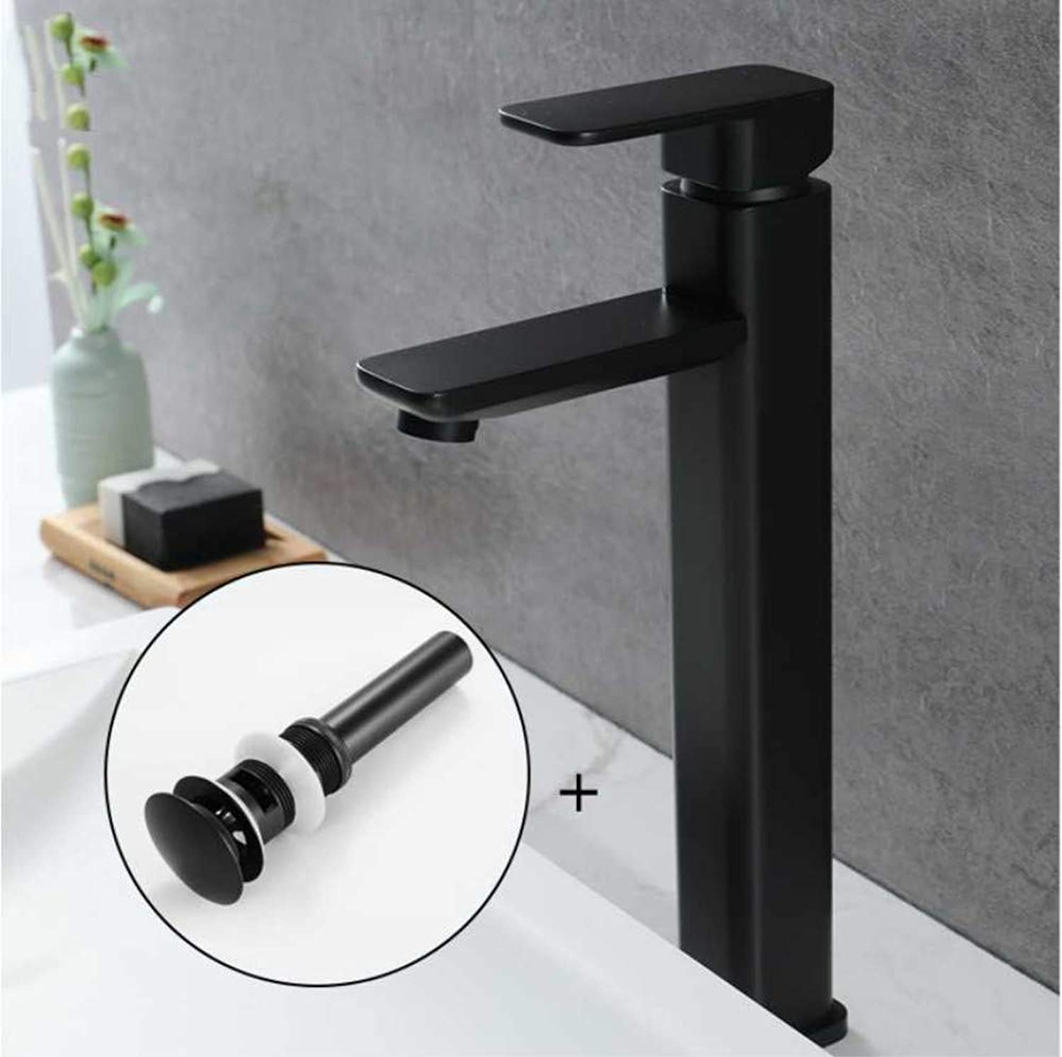 Jukunlun Basin Faucet Basin Bathroom Mixers Taps Waterfall Bathroom Mixer Faucets Bath Deck Mounted S Taps