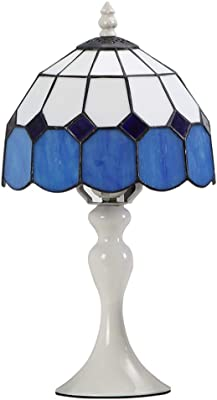 Dale Tiffany Ta100351 Castle Cut Mini Table Lamp Antique