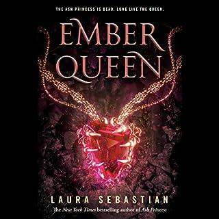 Ember Queen audiobook cover art