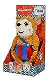 Simba 109241017 Bobo Siebenschläfer/Sing mit Mir Plüschtier / 35cm / Kinderbuchklassiker/Für Kinder ab 3 Jahren geeignet