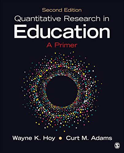 Quantitative Research in Education: A Primer (English Edition)