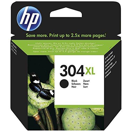 HP N9K08AE # ABE–Cartuccia d' inchiostro 304x L–nero