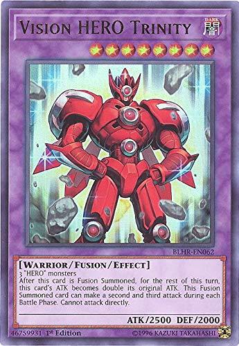 Yu-Gi-Oh! - Vision Hero Trinity - BLHR-EN062 - Ultra Rare - 1st Edition - Battles of Legend: Hero's Revenge